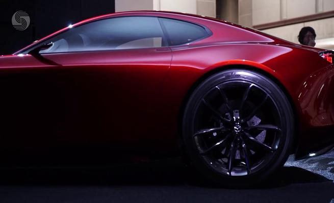 Mazda RX-VISION concept en el Salón de Tokyo 2015