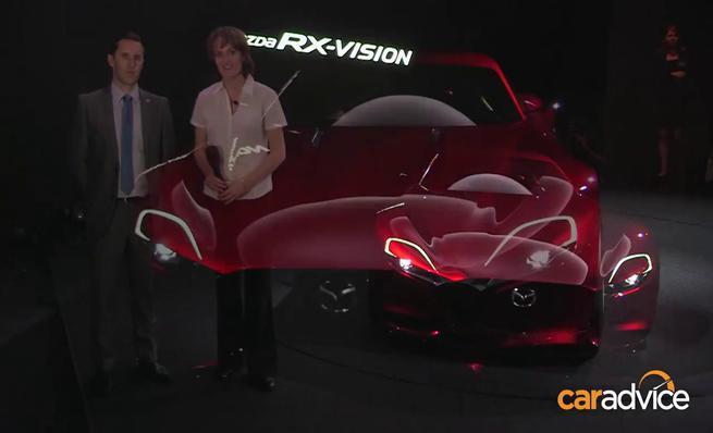 Mazda RX-VISION concept en el Salón de Tokyo