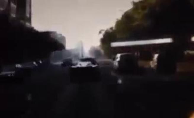 Accidente del Ferrari LaFerrari en las calles de Budapest