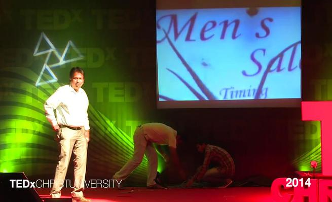 Ramesh Babu at TEDxChristUniversity