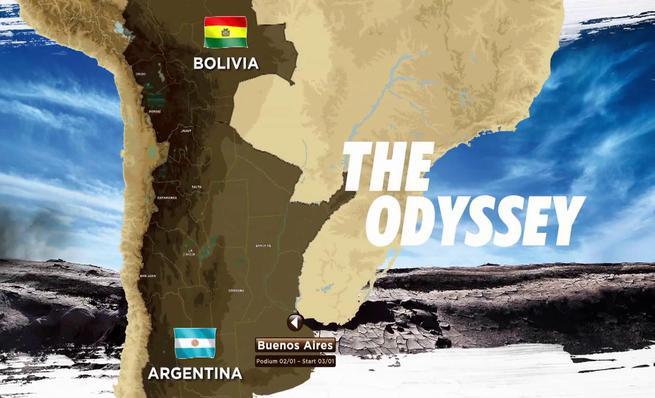 El recorrido del Dakar 2016, en vídeo