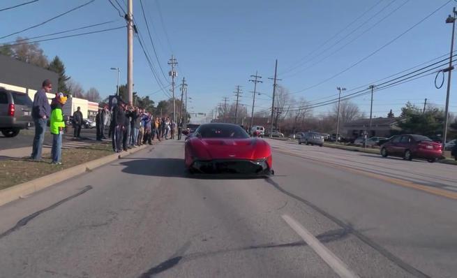 Aston Martin Vulcan en Cleveland