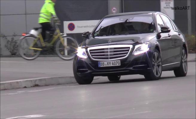 Prototipos sin camuflaje del Mercedes-Benz Clase S 2017