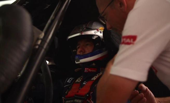Sébastien Loeb a bordo del Peugeot 2008 DKR16