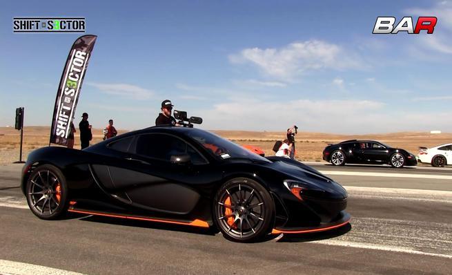 Mclaren P1 VS Bugatti Veyron. La Bella contra la Bestia