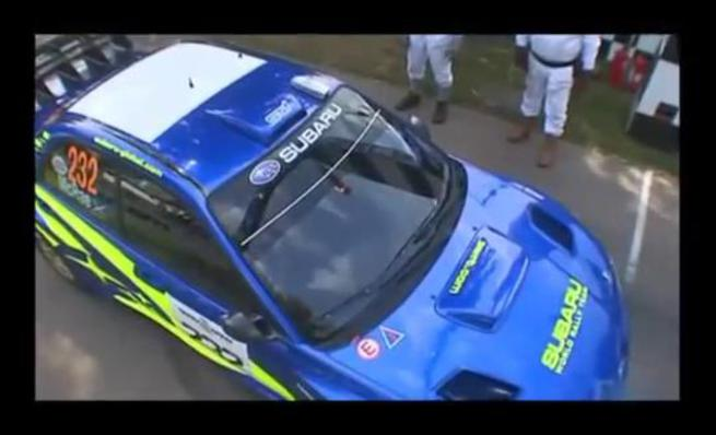 Colin McRae en el Goodwood FoS 2007