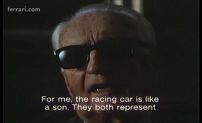 Enzo Ferrari: The racing car