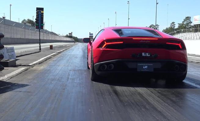 Récord Mundial Cuarto de milla: Lamborghini Huracán Underground Racing